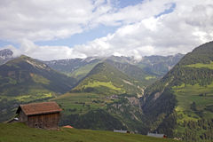 Typical farm house in Switzerland Stock Image