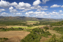 Typical farmland on Cuba Royalty Free Stock Images