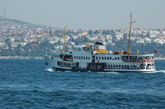 Typical ferry Royalty Free Stock Images