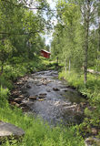 Typical Finnish nature, Jukka, Karelia Stock Photography