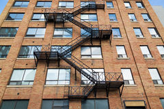 Typical Fire Escape Royalty Free Stock Image