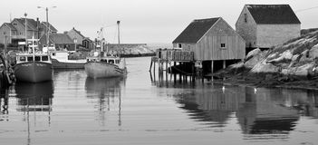 Typical fisherman shack Stock Images