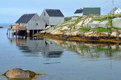 Typical fisherman shack Stock Photo