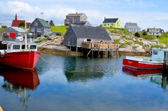 Typical fisherman village Royalty Free Stock Photos