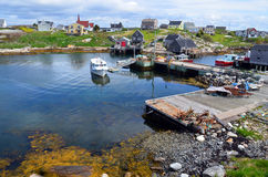 Typical fisherman village Stock Images