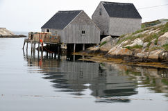 Typical fisherman village Stock Photography