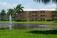Typical Florida Apartment Complex Royalty Free Stock Image
