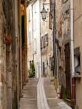 Typical French alley Stock Photography