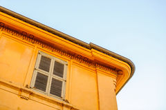 Typical French architecture Royalty Free Stock Photography
