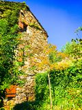 Typical French Ardeche house Royalty Free Stock Photo