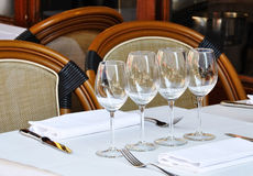 Typical French bistro Stock Photography