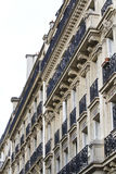 Typical French buildings Royalty Free Stock Photography