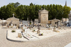 Typical French cemetery Stock Photos