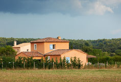 Typical French Provence house Royalty Free Stock Images