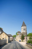 Typical French village Royalty Free Stock Photography
