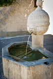 Typical French water fountain in Provence Stock Photo