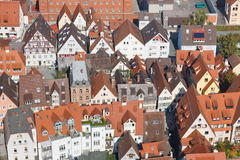 Typical German City Stock Photo