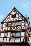 Typical German house Royalty Free Stock Photos