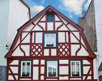 Typical german house Stock Images