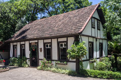 Typical German House in Brazil Royalty Free Stock Images