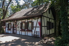 Typical German House in Brazil Stock Photography