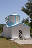 Typical greek chapel Royalty Free Stock Photos