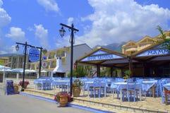 Typical Greek summer tavern Royalty Free Stock Photos