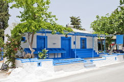 Typical Greek Village House Royalty Free Stock Images