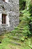 Typical grotto at Cevio on Maggia valley Royalty Free Stock Photography