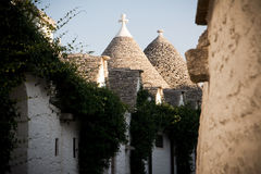 typical habitation of apulia Royalty Free Stock Images
