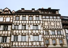 Typical half timbered houses Stock Photography