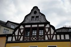 Typical half-timbered Houses in Germany Royalty Free Stock Image