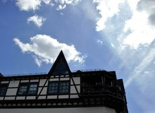 Typical half-timbered Houses in Germany Stock Photography