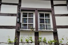 Typical half-timbered Houses in Germany Royalty Free Stock Photos