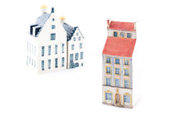 Typical handcrafted house Royalty Free Stock Photos