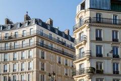 Typical Haussmann building in Paris. Stock Image