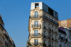 Typical Haussmann building in Paris. Stock Photography
