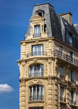 Typical Haussmannian building, Paris, France Stock Photo