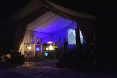 Vallea Lumina night adventure walk light show in Whistler, BC