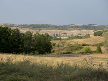 Hills in Oltenia Stock Photography