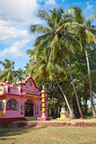 A Typical Hindu temple i Royalty Free Stock Images