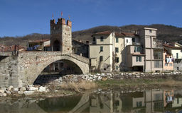 Typical hinterland ligurian village Royalty Free Stock Photo