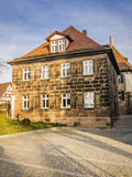 Typical historic franconia house Stock Images