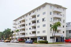 Typical historic Miami Beach architecture Stock Image