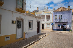 Typical historic street with Moorish elements Royalty Free Stock Photography