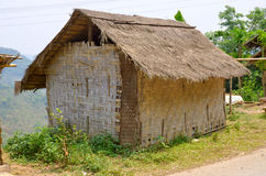 Typical Hmong house Stock Image