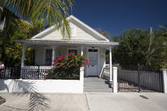 Typical home architecture key west florida Stock Photo