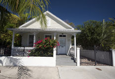 Typical home architecture key west florida Royalty Free Stock Photo
