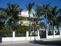 TYPICAL HOME IN KEY WEST Royalty Free Stock Image