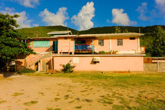 A typical home in the windward islands Stock Images